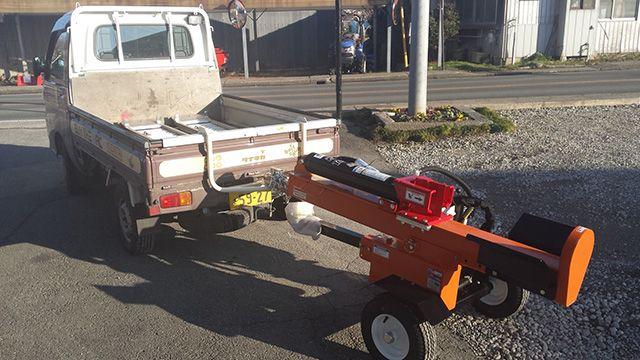 薪割り機用牽引ヒッチ-2